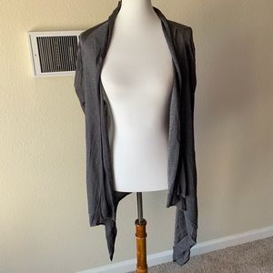 Ted Baker Sparkly Waterfall Open Front Cardigan